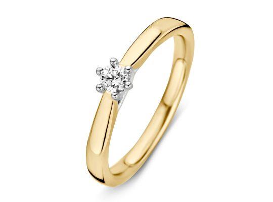 ring-bicolor-briljant-0.09ct/
